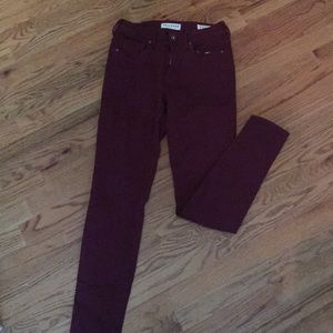 Bullhead denim high rise skinniest jeans